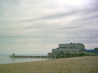 Colonial Beach, Virginia - Pier and Riverboat Off Track Betting, Restaurant, and Lounge.