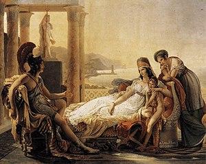 Énée racontant à Didon les malheurs de la ville de Troie