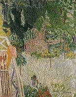 Pierre Bonnard Le pommier fleuri ou Le balcon à Vernonnet 1920.jpg