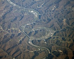 Pikeville, Kentucky aerial