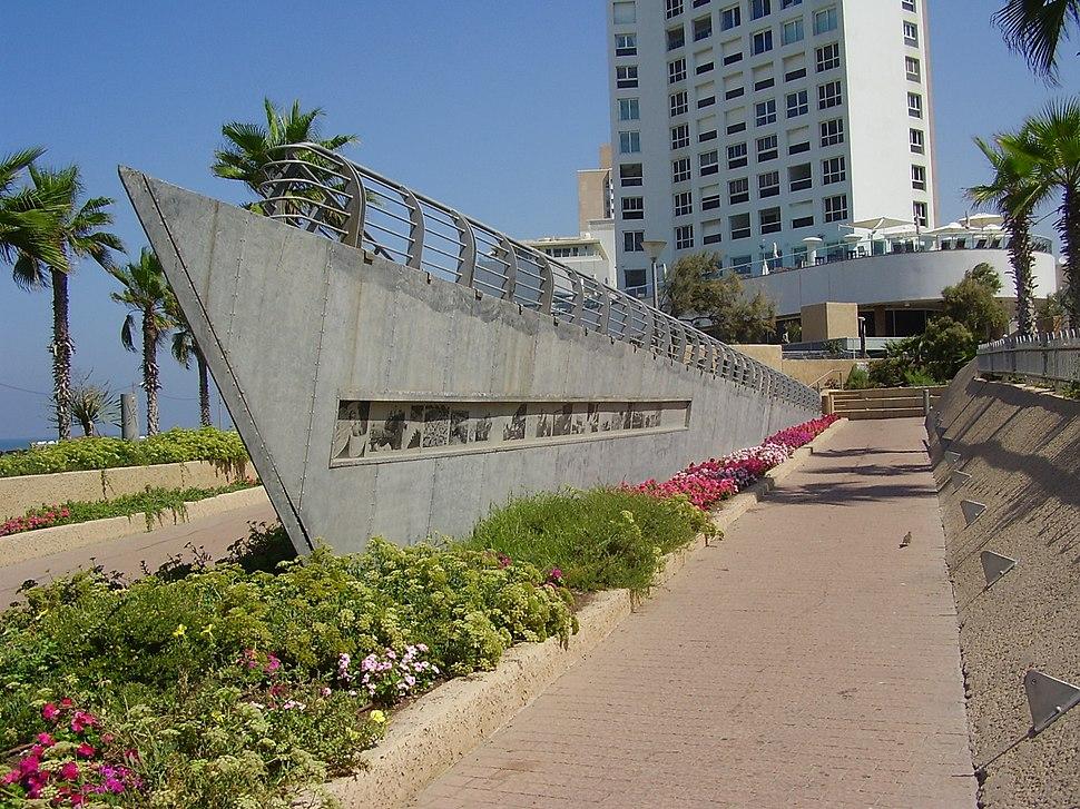 PikiWiki Israel 14494 Immigration (Haapala) monument in Tel Aviv