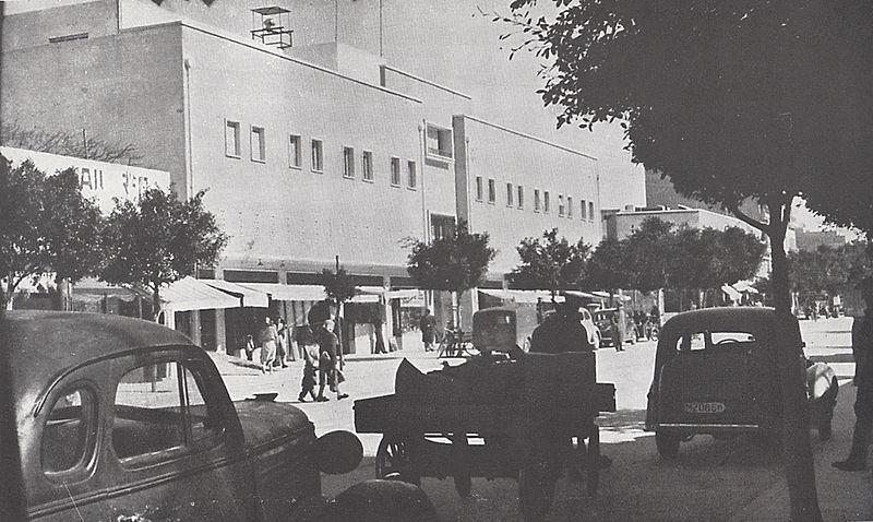 רחוב מרכזי בנתניה