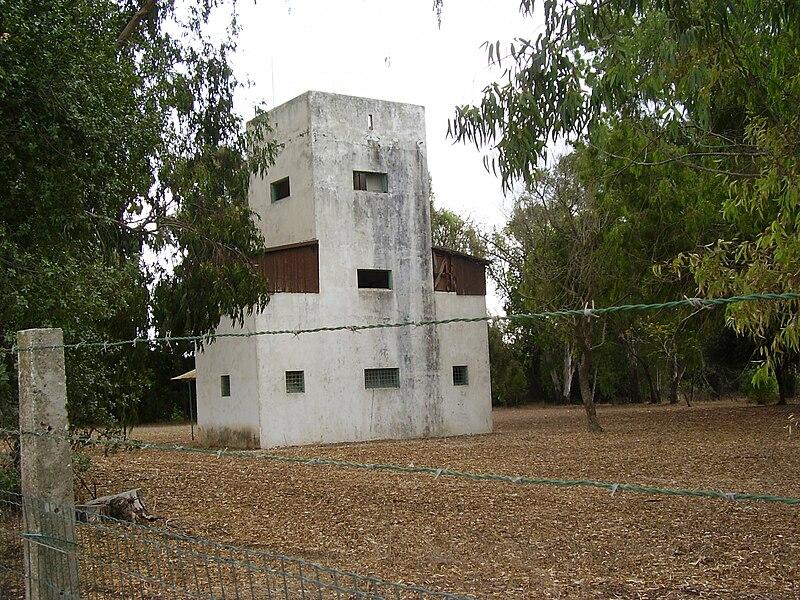 בית הבטחון הישן של קיבוץ דליה