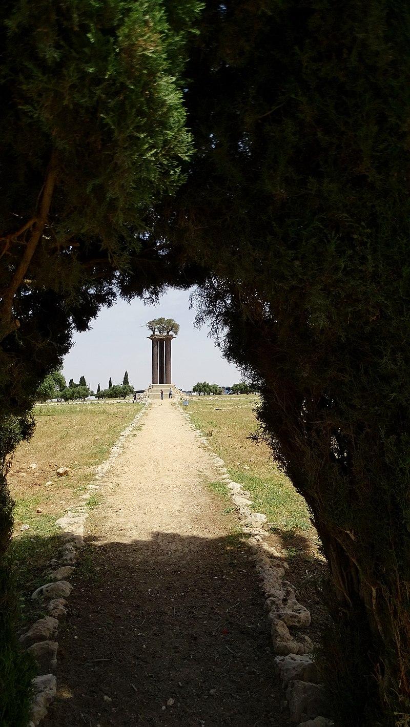 פסל עמודי הזית