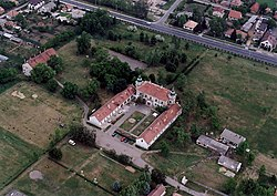 The Beleznay-Nyári Palace from the air