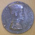 Pisanello, medaglia di pier candido decembrio, 1448.JPG