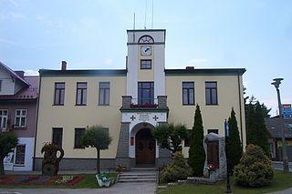 Piwniczna-Zdrój Place in Lesser Poland, Poland