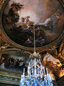 Plafond-Salon d'Apollon-Versailles