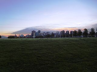 LeBreton Flats Neighbourhood in Ottawa, Ontario, Canada