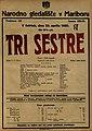 Plakat za predstavo Tri sestre v Narodnem gledališču v Mariboru 23. aprila 1925.jpg