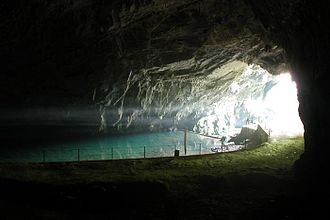 Planina Cave - The entrance to Planina Cave