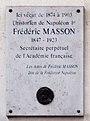 Plaque Frédéric Masson.jpg