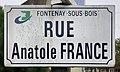 Plaque rue Anatole France Fontenay Bois 2.jpg