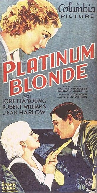 Platinum Blonde (film) - Image: Plat Blonde