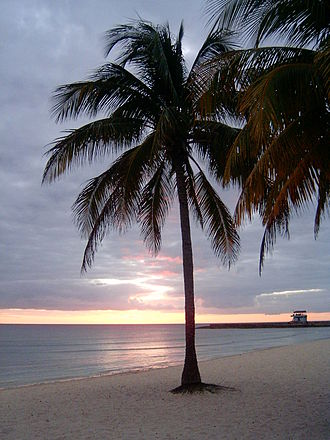 Playa Girón - Playa Girón at sunset