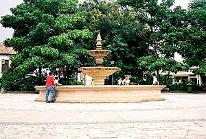 كوماياغوا: PlazaCentralComayagua