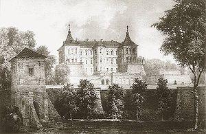 Pidhirtsi Castle - Napoleon Orda, Castle in Pidhirtsi.