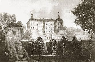History of the Polish–Lithuanian Commonwealth (1569–1648) - The Castle in Podhorce (Pidhirtsi) was built by Hetman Koniecpolski