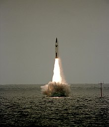 Polaris missile launch from HMS Revenge (S27) 1983.JPEG