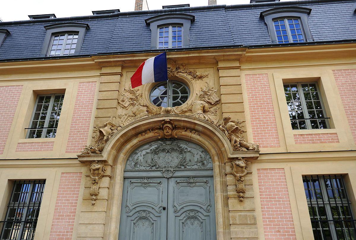 Pavillon des gendarmes wikip dia for Pavillon 6 porte de versailles