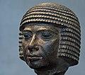 Porträtkopf eines Mannes. Altes Reich, 4. Dynastie, um 2550 v. Chr. Granodiorit. Assuan.jpg