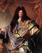 portrait de louis xiv