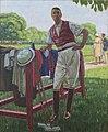 Portrait du prince Léon Radziwill au polo à Bagatelle.jpg