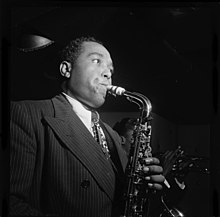 Parker at Three Deuces, New York in 1947