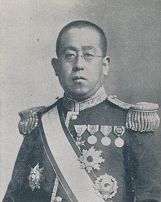 Tokugawa Iesato - Prince Tokugawa Iesato as President of the House of Peers