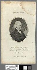 Rev. Willm. Love. M.A