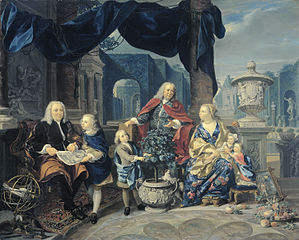 Portrait of David van Mollem with his Family