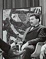 Portret van de kunstschilder Karel Appel (1921-2006) tijdens een interview, Bestanddeelnr 133-1171.jpg