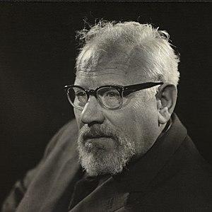 Claes Gill - Image: Portrett av skuespiller og forfatter Claes Gill (1910 1973)