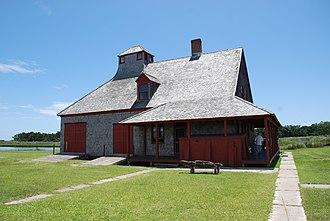 Portsmouth, North Carolina - U.S. Life-Saving station (built 1894, decommissioned in 1937)