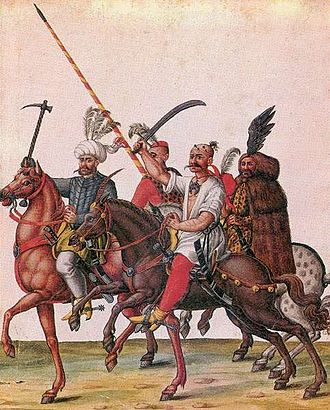 Ottoman Hungary - Ottoman soldiers in the territory of present-day Hungary