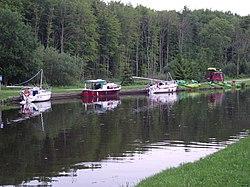 Postój na Kanale Elbląskim - panoramio.jpg