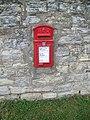Postbox near Barrow - geograph.org.uk - 1562914.jpg