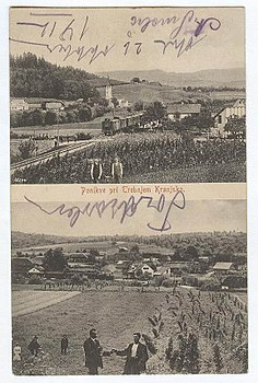 Postcard of Dolenje and Gorenje Ponikve.jpg