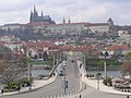 Praha, Mánesův most, Hrad 01.jpg