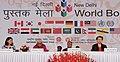 Pranab Mukherjee, the Union Minister for Culture, Smt. Chandresh Kumari Katoch and other dignitaries at the inauguration of the New Delhi World Book Fair-2014, at Pragati Maidan, in New Delhi on February 15, 2014.jpg