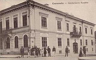 Cernăuți County County in Romania