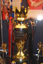 Premier League trophy at museum.JPG