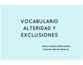 """Presentación Herramienta digital """"Vocabulario Alteridad y Exclusiones"""".pdf"""