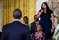 President Obama Listens to a Question from Nadia Gomes of Mozambique.jpg