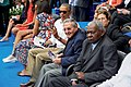 President Obama With Cuban President Castro at Estadio Latinoamericano in Havana, Cuba (25370065553).jpg