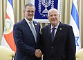 President Reuven Rivlin met with the Danish Foreign Minister the Minister of Foreign Affairs of Costa Rica (6761).jpg