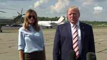File:President Trump Delivers Remarks Upon Departure 2019-08-04.webm