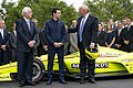 President Trump and the Indy 500 Winner (48051778452).jpg