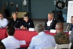 President meets leaders of storm-ravaged North Carolina at MCAS Cherry Point 180919-Z-DZ751-464 (44838212625).jpg