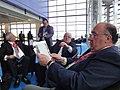 Primera reunión del GRULAC 2012-2014. De izq. a Der. Sigfredo Reyes, Presidente del Parlamento de El Salvador, Fernando Cordero, Presidente de la AN del Ecuador y el diputado Roberto León Ramírez (8146251053).jpg